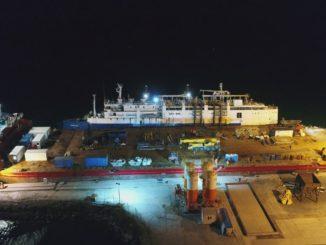 ranfluare nava port midia