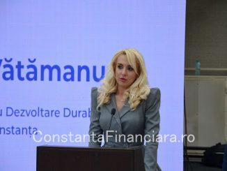 Președintele ADD Constanța, Ana-Maria Vătămanu