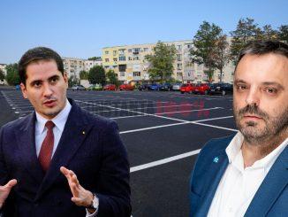 Costin Răsăuțeanu, PSD, (stânga) versus Florin Cocargeanu, USR